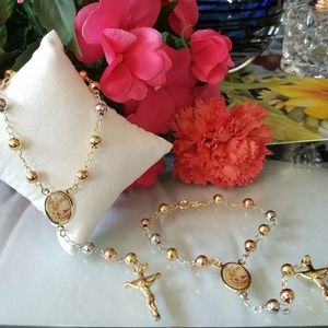 Jewelry - Set of 2 St. Miguel Rosary Bracelet